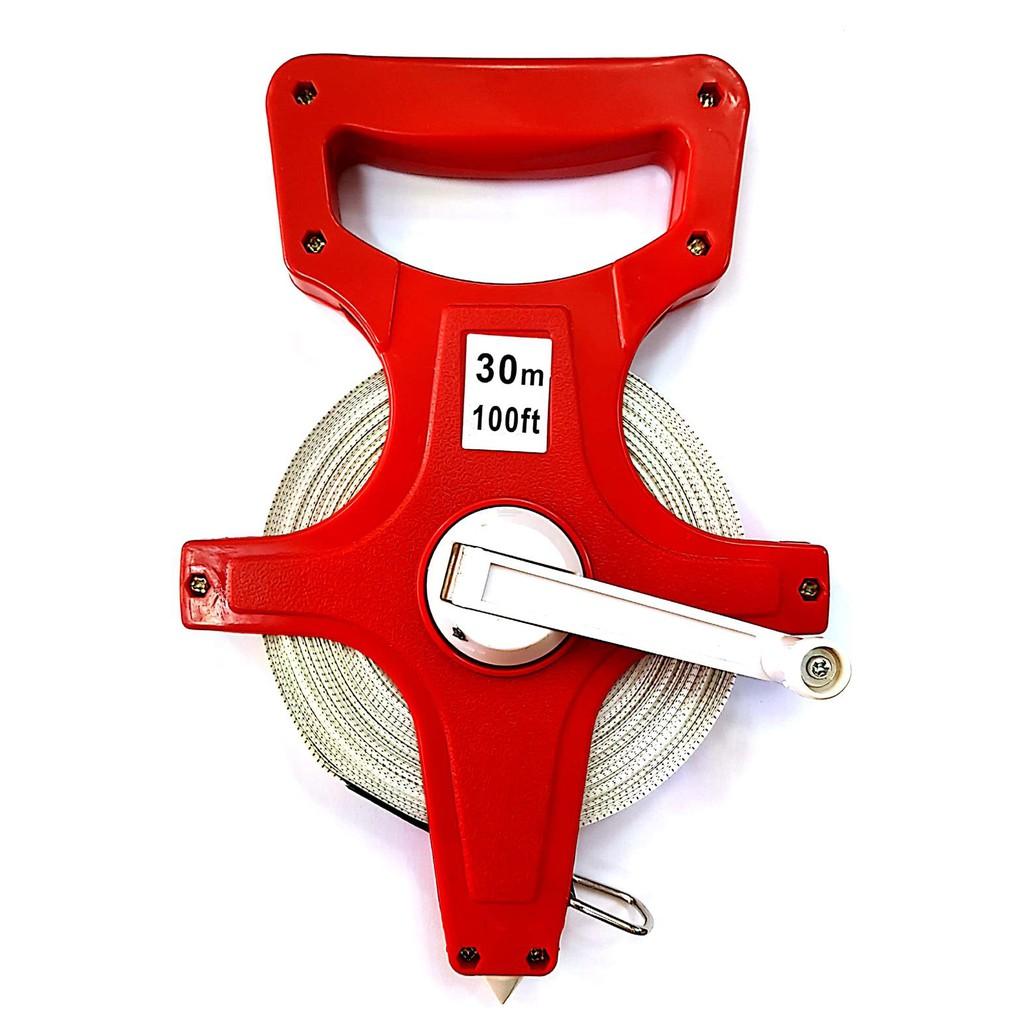 Mckenic Fiberglass Measuring Tape (30M, 50M, 100M)