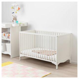 Ikea Baby Cot Crib Bedside