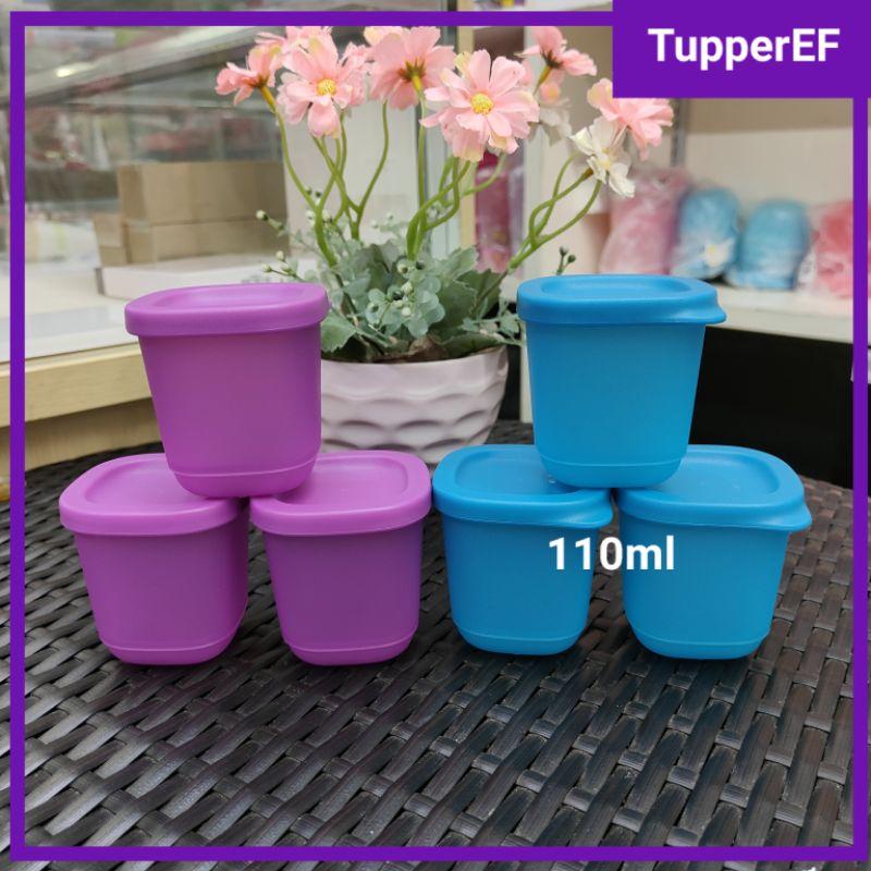[Ready Stock] Tupperware Cubix Mini Square (3pcs) 110ml