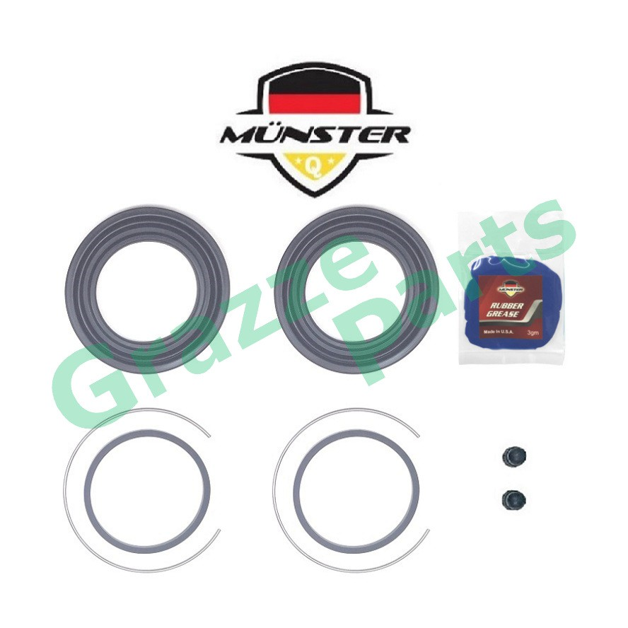 Münster Disc Brake Caliper Repair Kit Front for 04479-20330X - 58mm Toyota Caldina No Turbo AZT246W