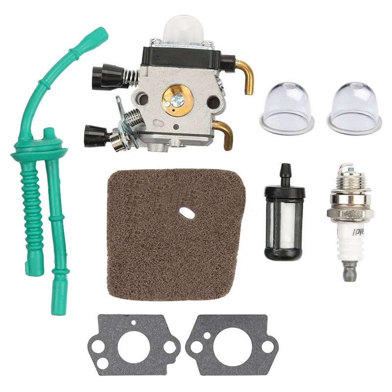 Fuel Line Carburetor Kit For STIHL FS38 FS45 FS55 FC55 String Trimmer Weed  Eater