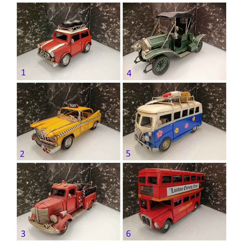 TOY CAR/ KERETA MAINAN/ PERMAINAN KERETA/ KERETA MINI/ CAR FOR DISPLAY/ CAR FOR PLAY/ 玩具车/ 迷你玩具车/ ANTIQUE TOY CAR