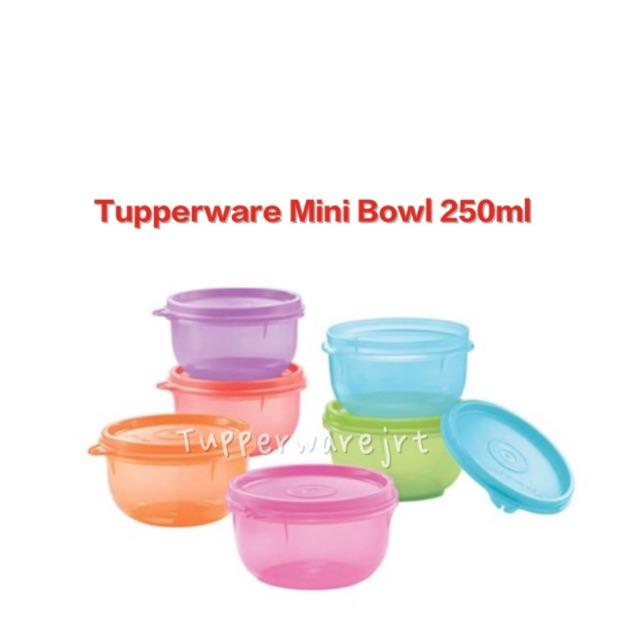 Tupperware Mini Bowl 250ml x 1pc