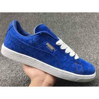 super popular b5ee9 7a0d3 seldd PUMA Suede x Paul Stanley couple sport shoes sapphire ...