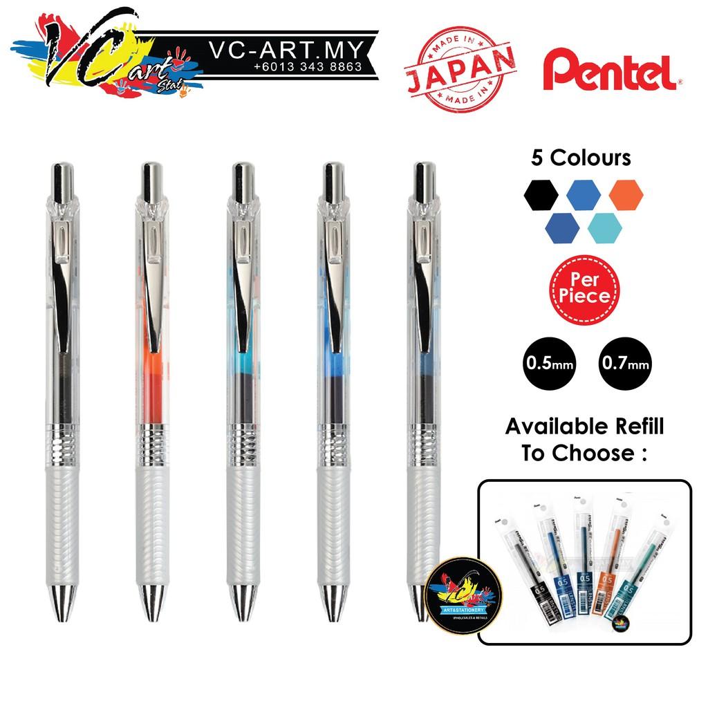 c21f9ab7b01d7 [VC-ART MY] Pentel Energel Infree Retractable Gel Roller Pen (0.5mm/0.7mm)