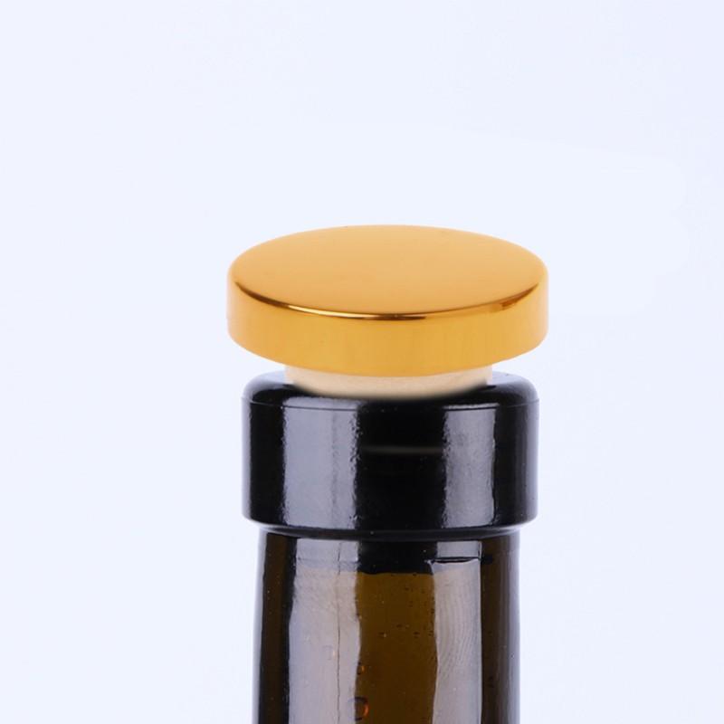 Wine Bottle Stoppers Beer Cork Plug Iron Cover Kitchen Bar Tool Saver Sealer