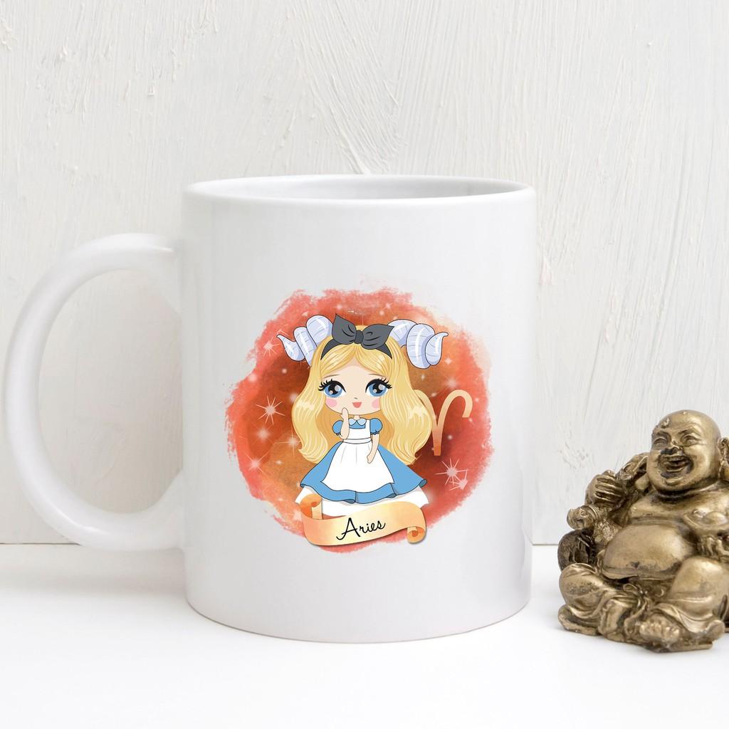 Cute Disney Mug Princess Mug Cute Aries Zodiac Mug Disney Lover Gift Unique Mug Shopee Malaysia