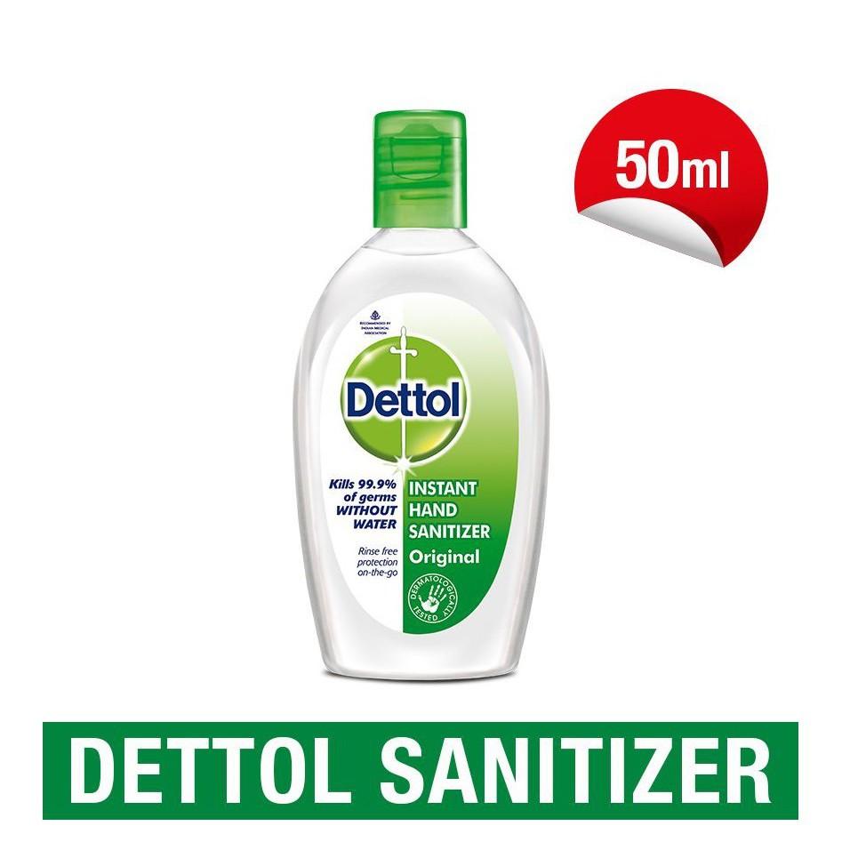 DETTOL Hand Sanitizer 50ml (ORIGINAL)