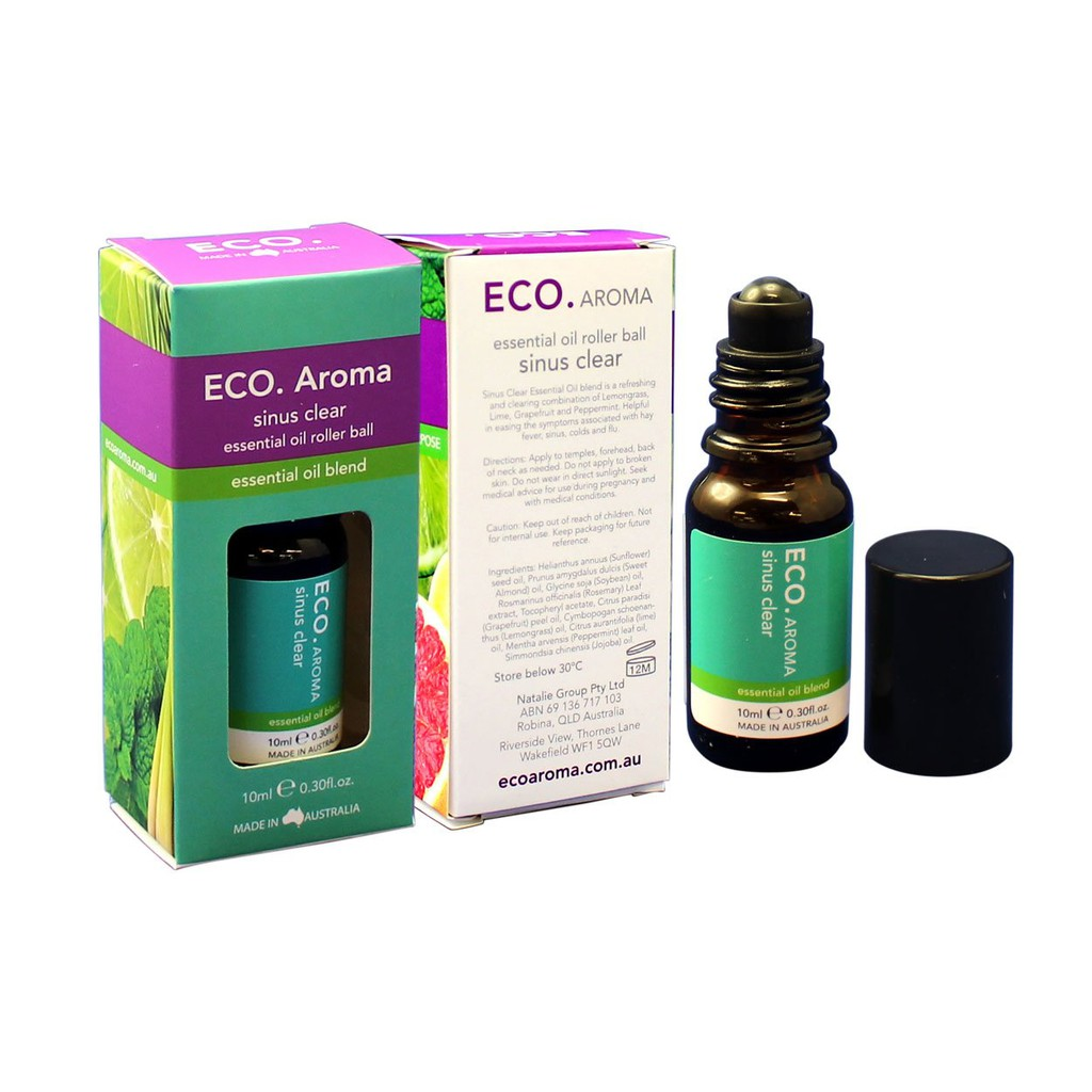 ECO Natural Sinus Clear Roller Ball Essential Oil 10ML