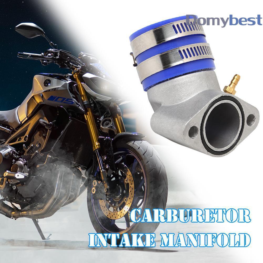Engine Carburetor Aluminum Alloy Intake Manifold For GY6 150cc Scooter Go Kart