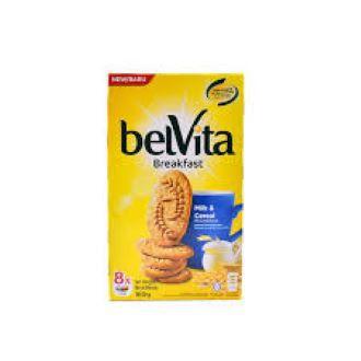 Belvita Milk & Cereal Flavoured Breakfast Biscuit (8 x 20g) 160g