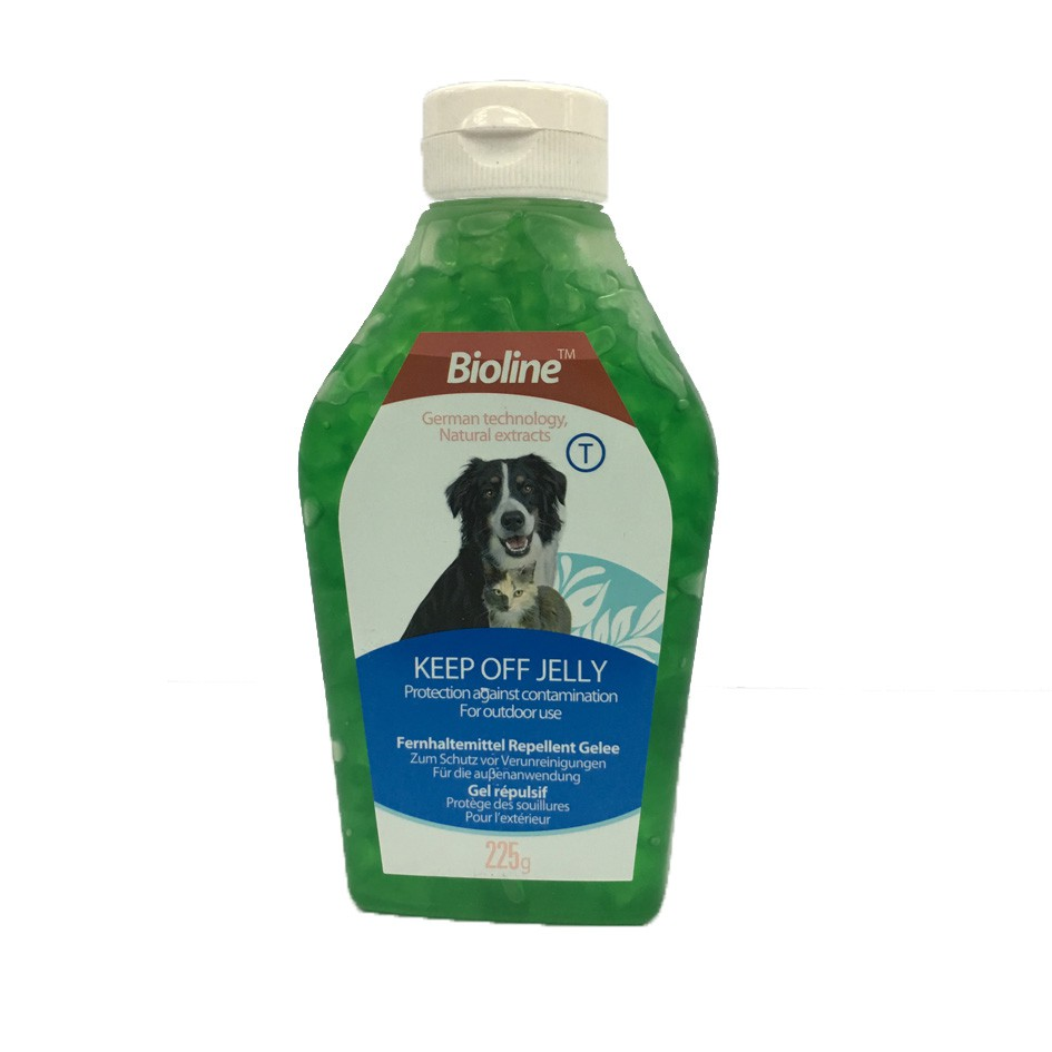 Bioline Keep Off Jelly for Dogs & Cats 225g