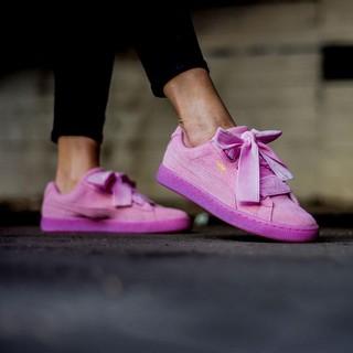 81ede8c632c1 Shopee Women s Shoes Sneakers Low Tops Puma Suede Heart Reset