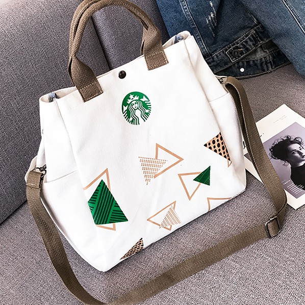 Women's Handbag Korean Style Canvas Sling Bag