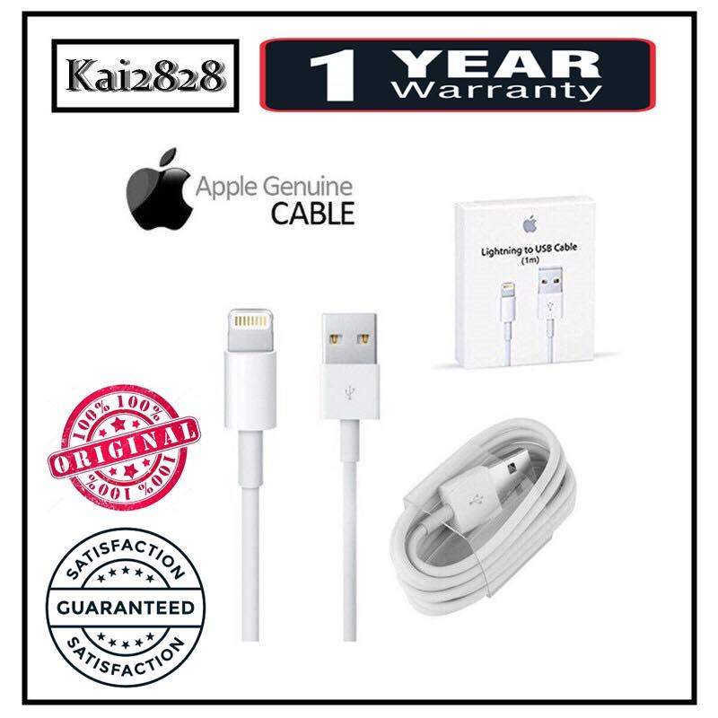 Original Apple iPhone 6 6S 7 7plus 8 X Plus USB Cable Charger [Import]