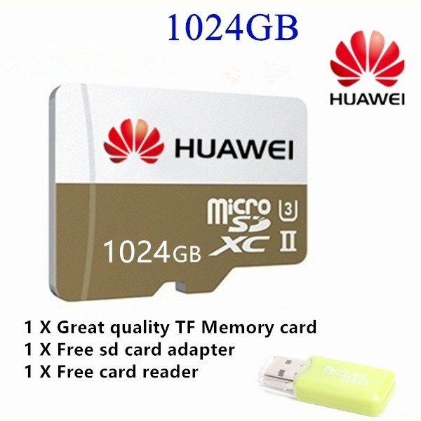 New 1024GB HUAWEI Original Micro SD Card Class10 TF Card High Speed Memory  Card