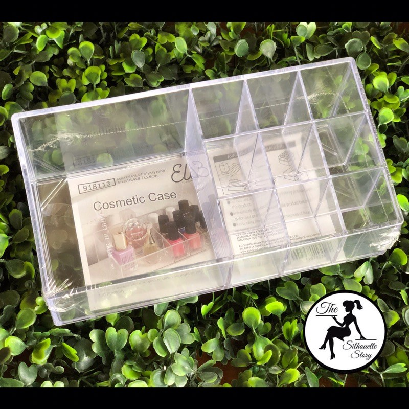 [READY STOCK] Cosmetic Makeup Organizer Lipstick Makeup Holder Clear Acrylic Display