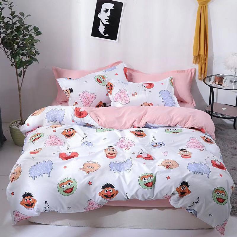 Sesame Street 10 Design Bedding Sets, Elmo Bedding Queen Size