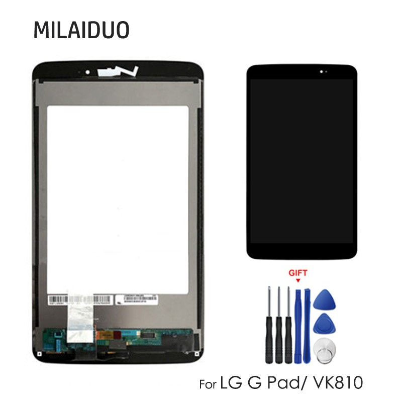 For LG G Pad VK810 LCD Display Touch Screen Digitizer Sensor Panel Full  Assembly