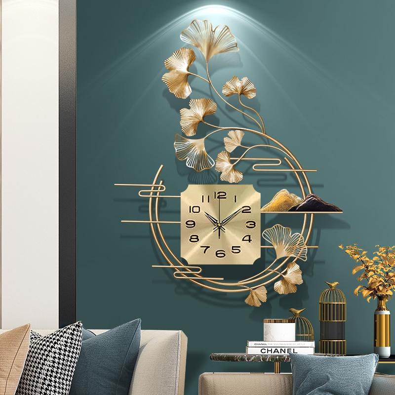 Clocks And Clocks Living Room Wall Decoration Clock Decoration Sound Clock Wall Clock Shopee Malaysia