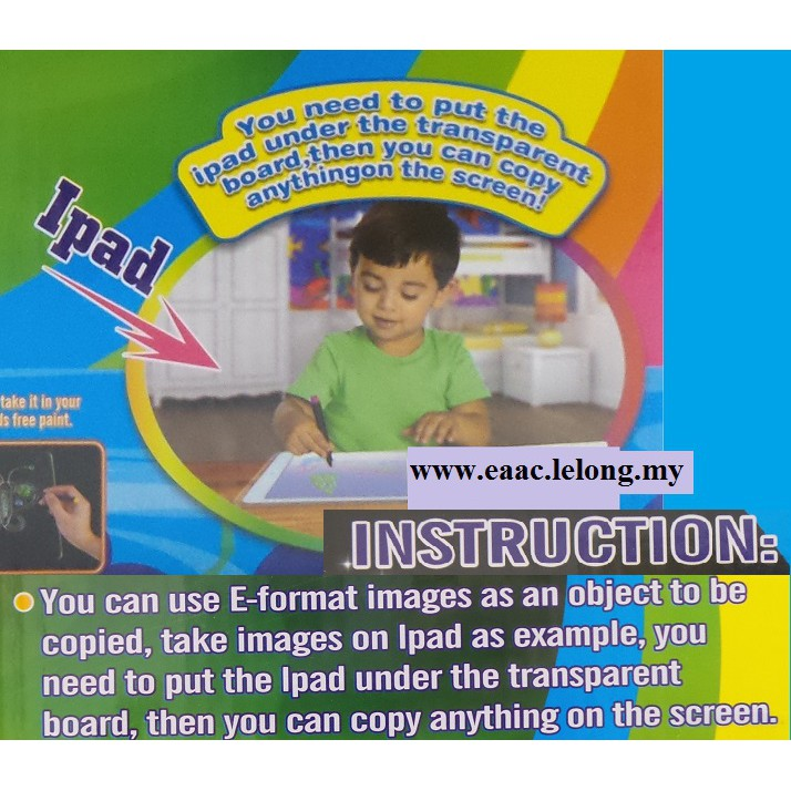 Magic 3D Drawing Board (Shark) 2
