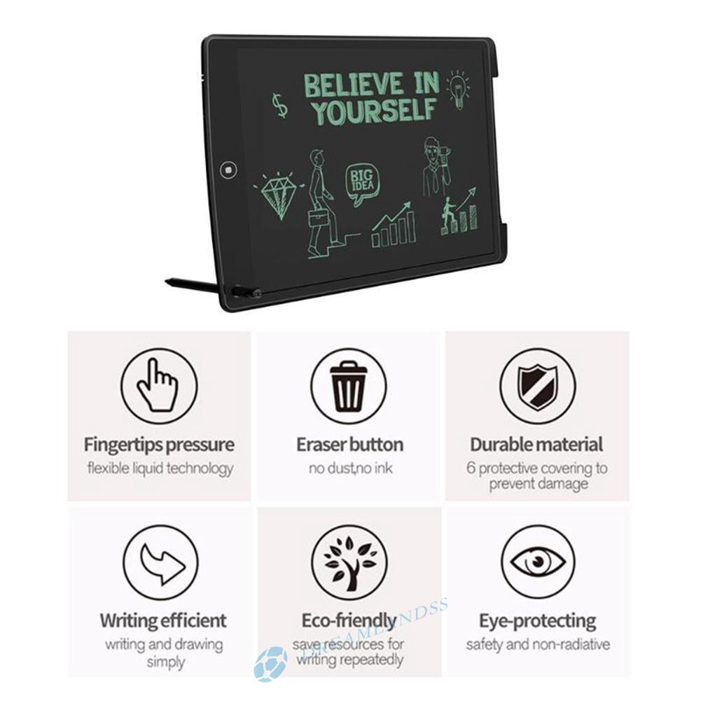 Howeasy Board 8.5in LCD Electronic Digital Writing Tablet Drawing Pad Kids Gift