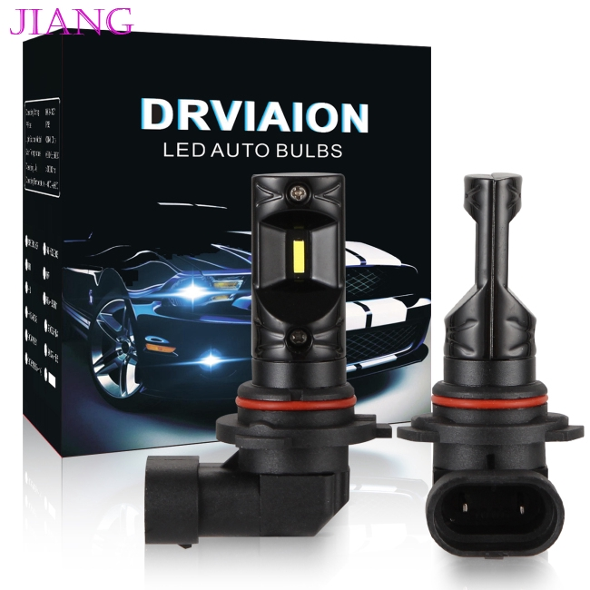 2X 9006 HB4 9005 High Power LED BLUE 6000K 60W Fog Light Driving Lamp Bulb