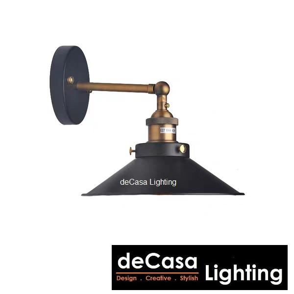 (SET WITH LED BULB) Lampu Hiasan Dinding Best Seller Decorative Wall Light Decasa Lighting Designer Wall Lamp (6008-220)