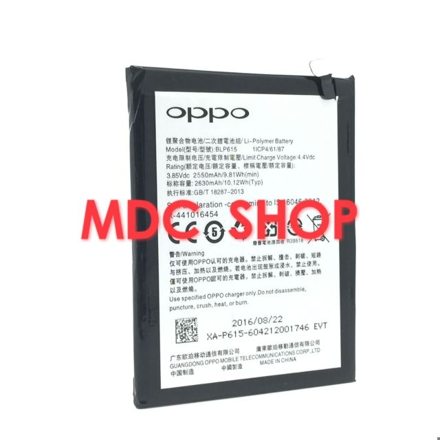 Oppo A37 Neo 9 (BLP615) 2550mAh High Quality Battery** Free Tools