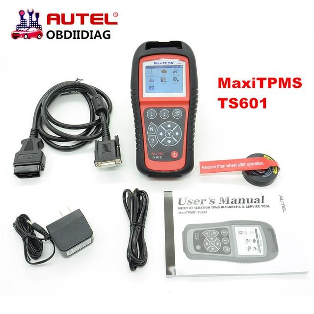 AUTEL TPMS Diagnostic &Service Tool TS601 Autel MaxiTPMS TS-601 Update  Online