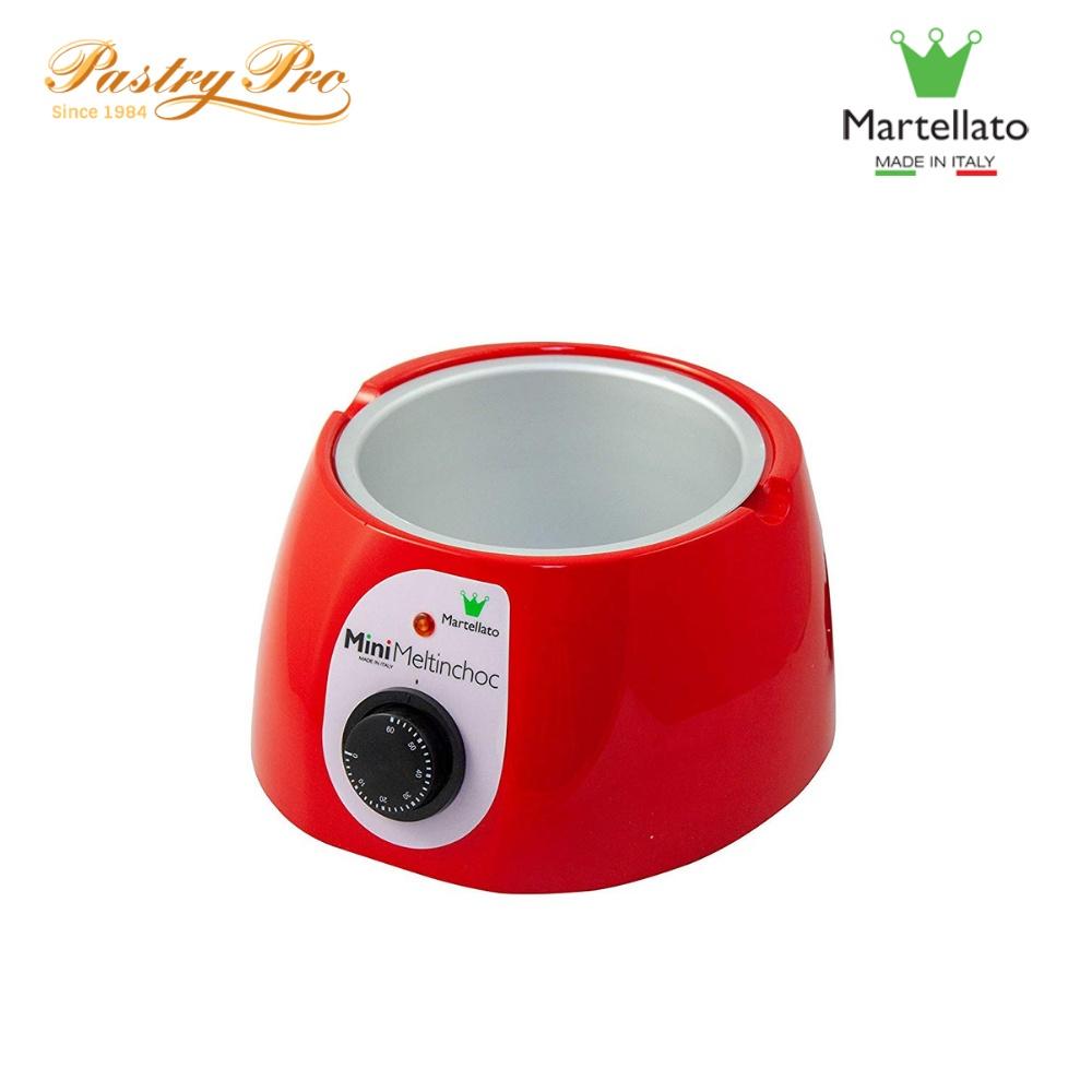 MARTELLATO, Mini Chocolate Warmer, 1.8 L, Red