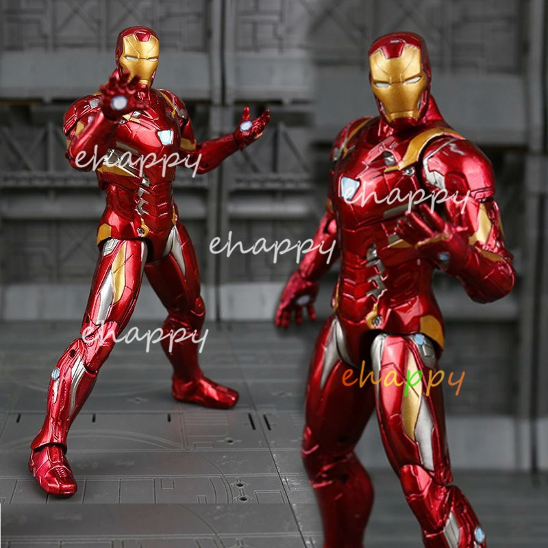 America Captain Iron Man Marvel Movie Series Action Figure Model The  Avengers