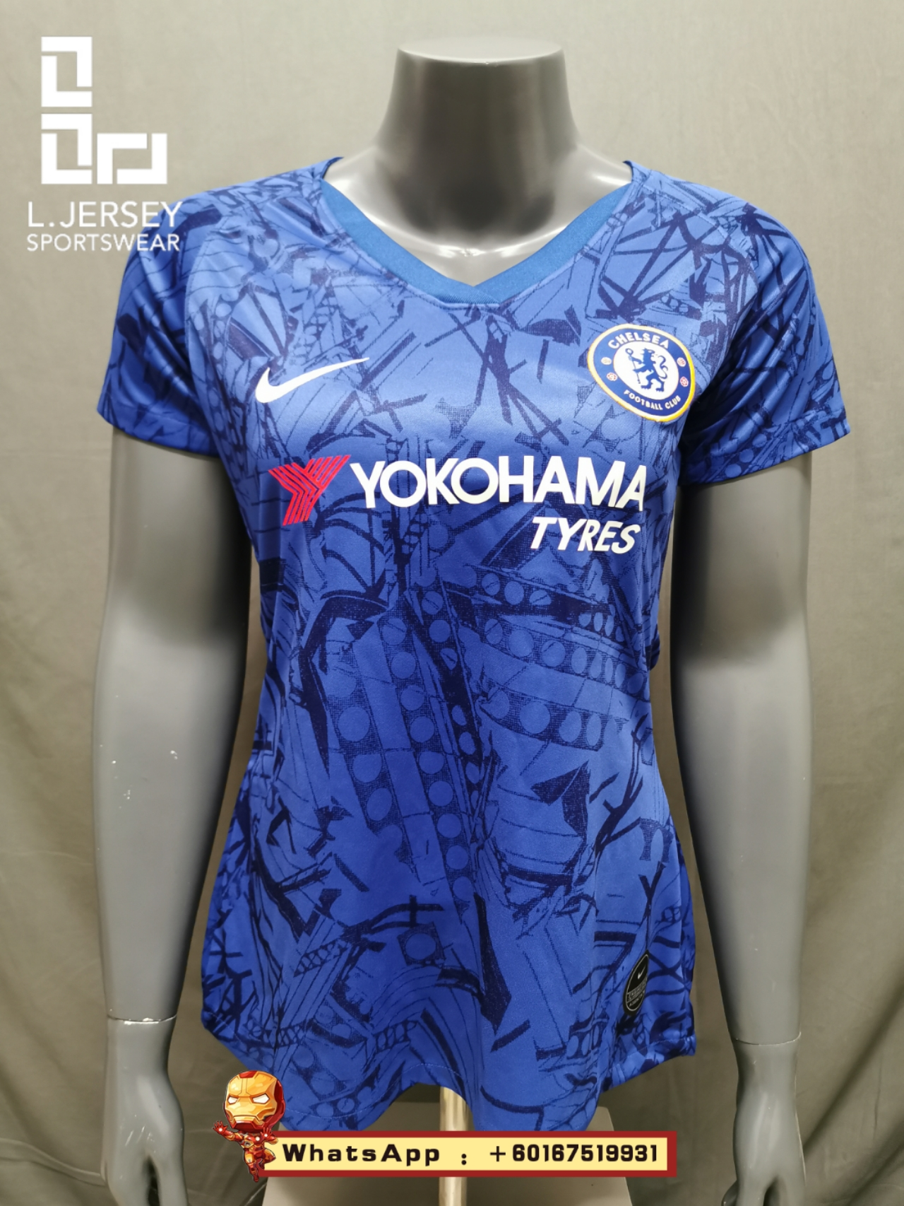 Chelsea Women Home Season 19/20 Fans Issue Jersey