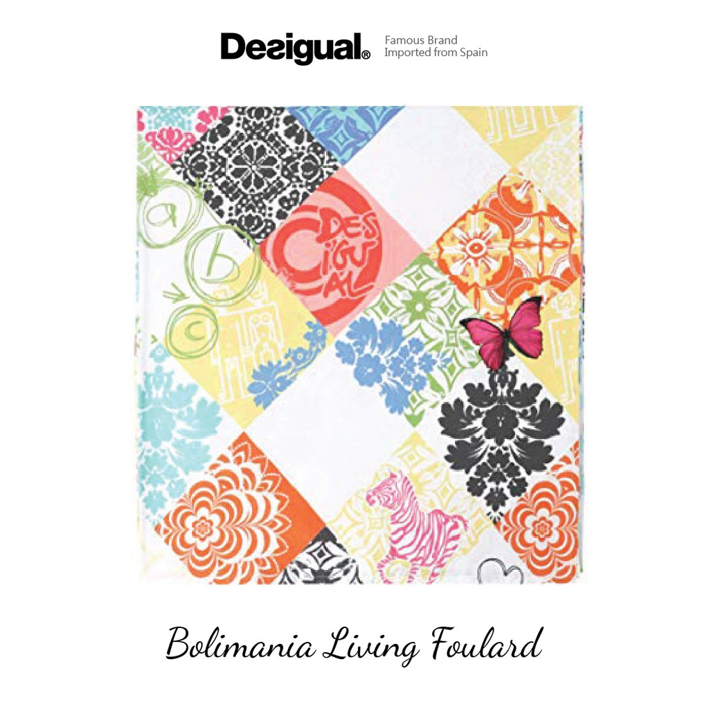Desigual Bolimania Living Foulard (Imported from Spain)