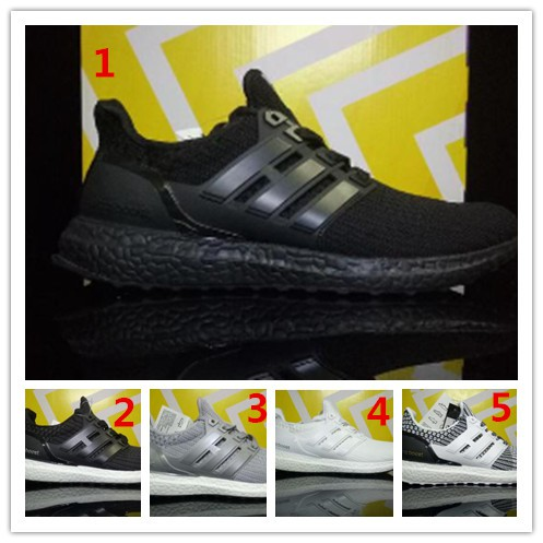 new product e204d 0ad8a Ultra Boost 4.0 Triple blue grey Men Women Running Shoes ultraboost sport  Shoes
