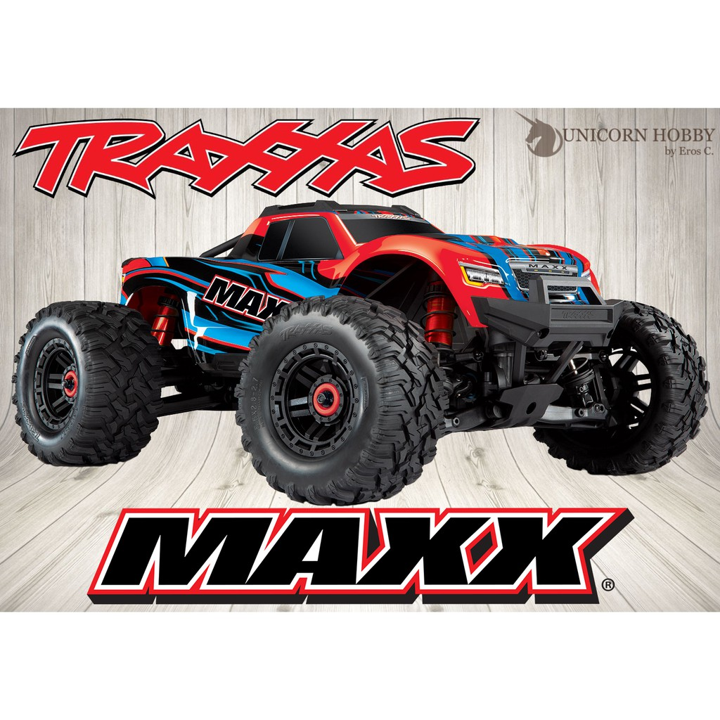 Traxxas Maxx 4s Monster Truck Off Road Rc Car 60 Mph Shopee Malaysia Brushless electric monster truck with tqi link enabled 2.4ghz radio system. traxxas maxx 4s monster truck off road rc car 60 mph