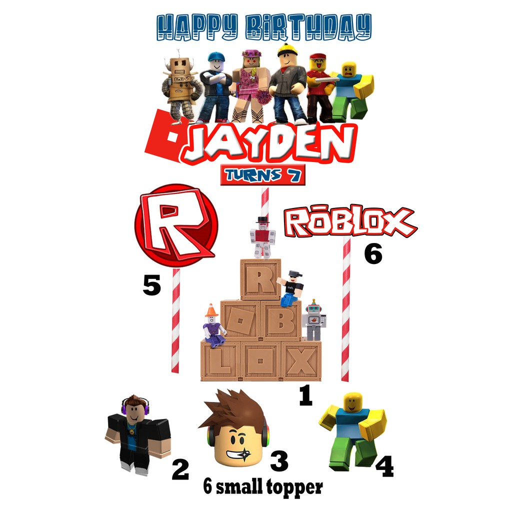 Roblox Happy Birthday Sign Roblox Happy Birthday Banner ...