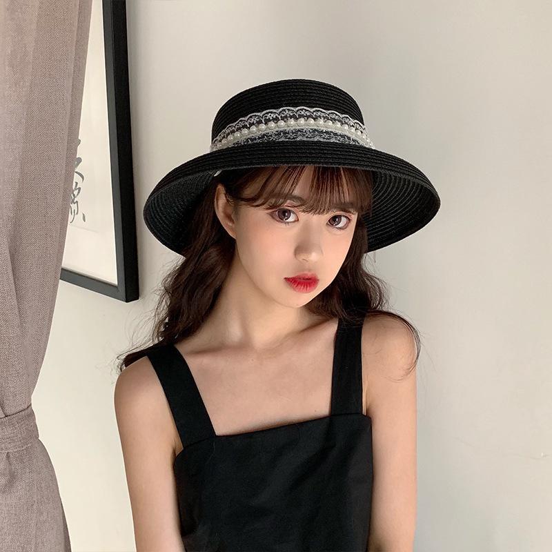 fad7abd6 Esty Women Summer Beach Hat Sunscreen Pearl lace Outdoor Travel Fishermen |  Shopee Malaysia
