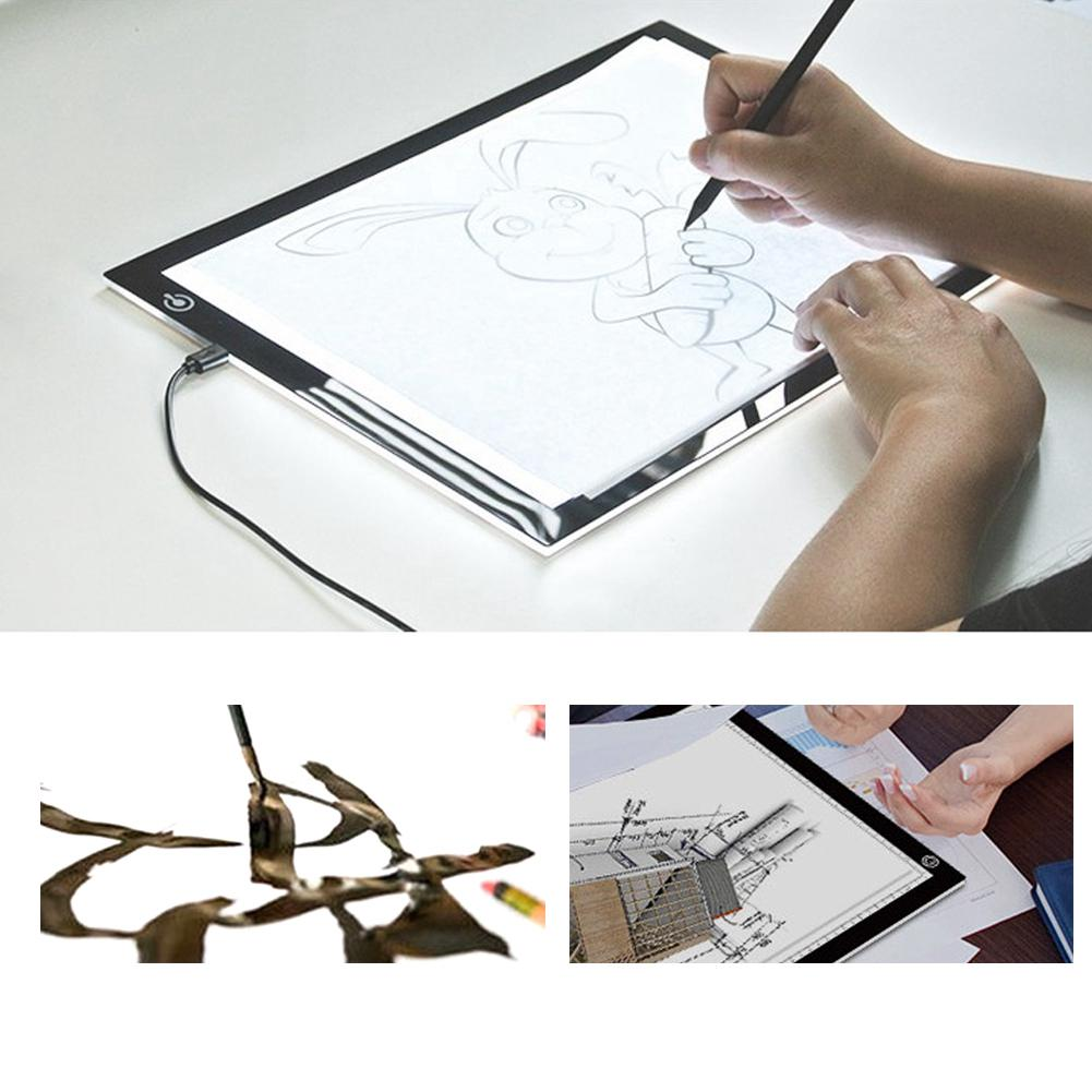 A4 LED Box Painting Stencil Board Drawing Light Board | Shopee Malaysia