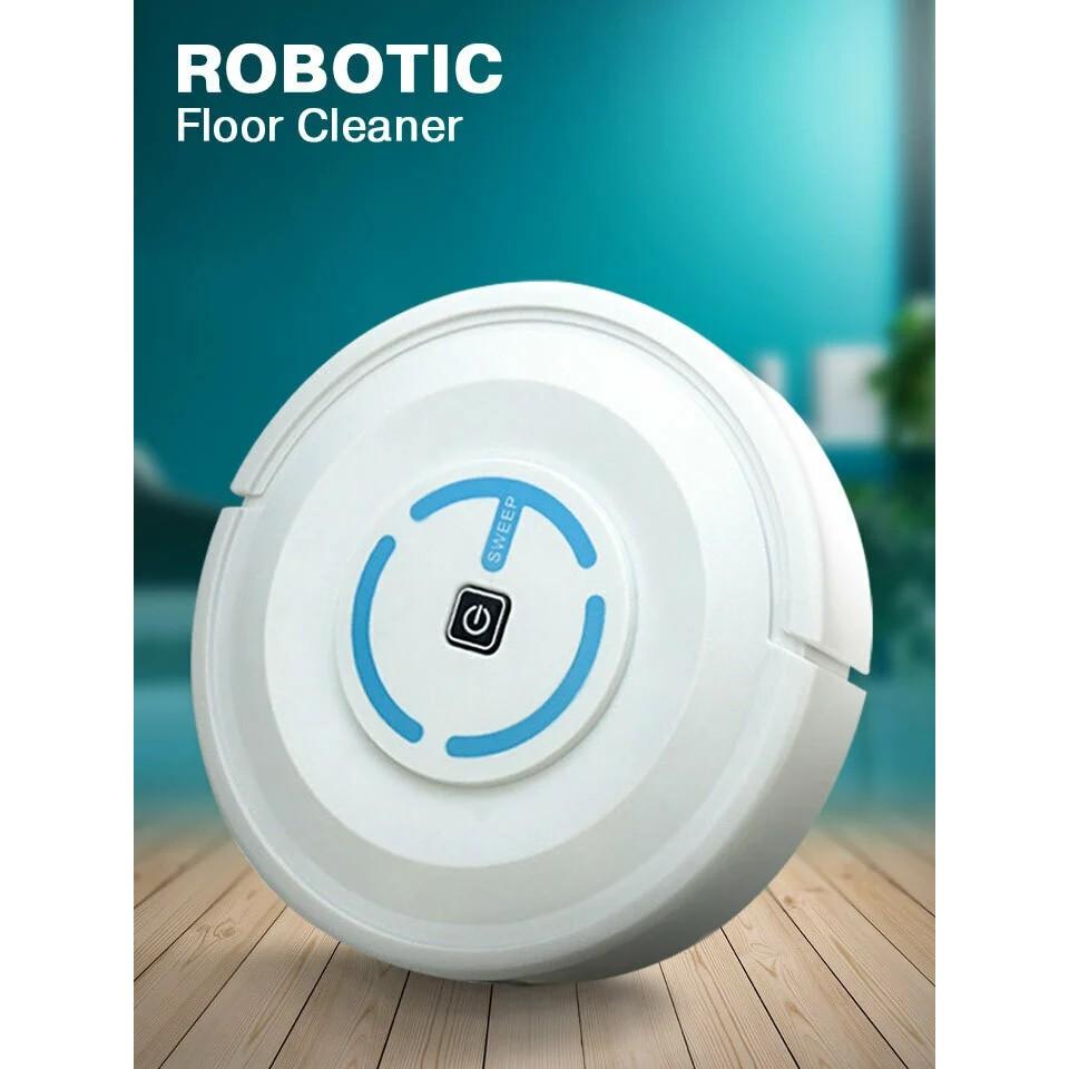 Robotic Floor Cleaner Robot Automatic Cleaning Tool Sweep Floor Sweeper Mop CL175