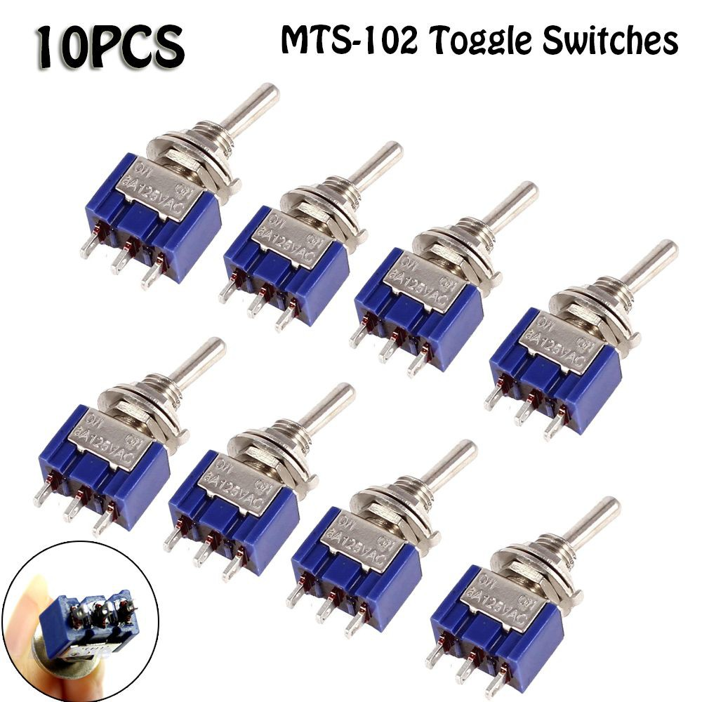 10pcs Dot Round Boat Rocker Led Light Spst Toggle 6a 250v On Off For Wiring Diagrams Switch Kcd1 5 Shopee Malaysia