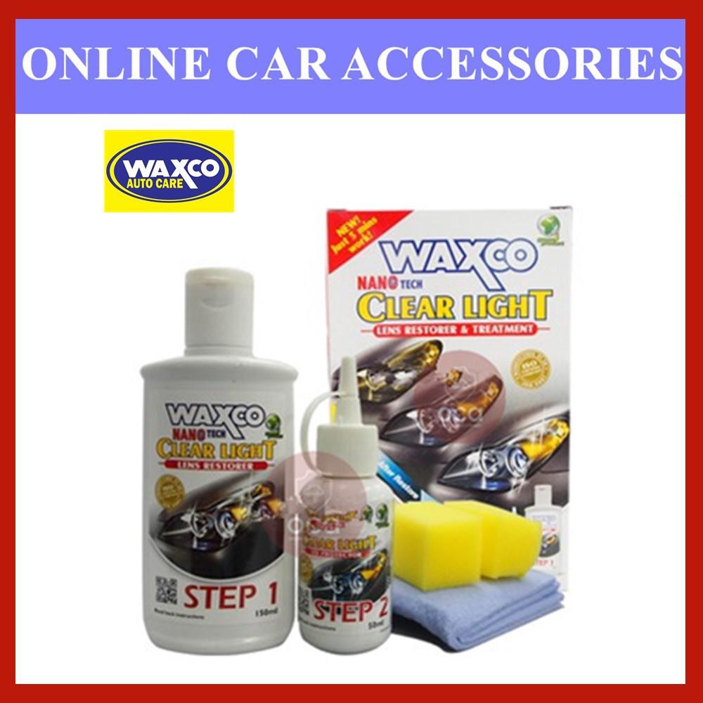 Waxco Clear Light Lens Restorer & Treatment