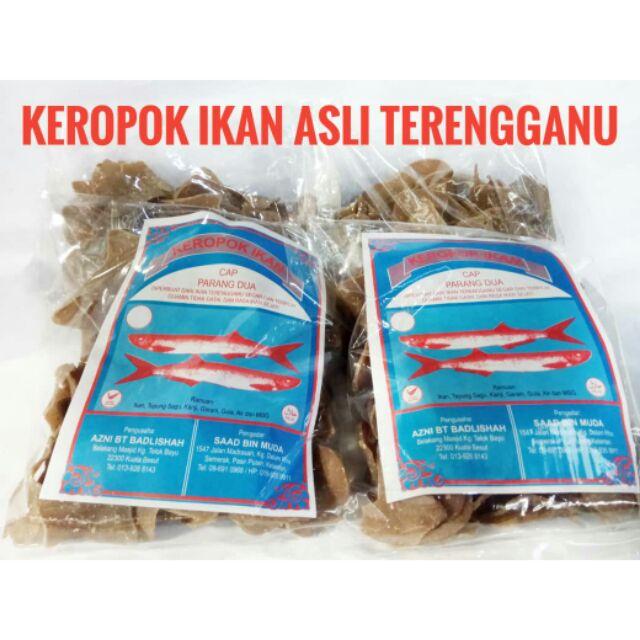 Keropok Ikan Terengganu Cap Ikan Parang Dua | Shopee Malaysia