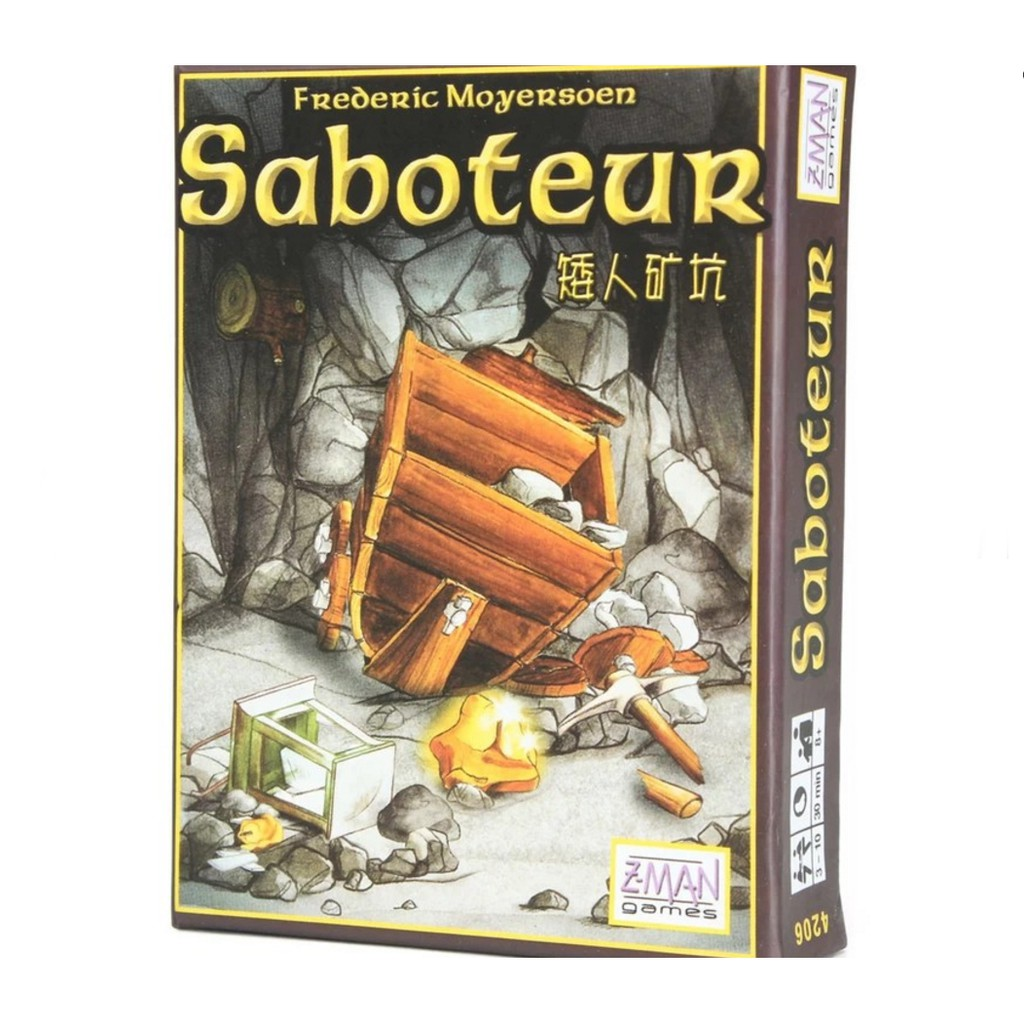 Saboteur Path Laying Card Game Rule In English And Chinese Shopee