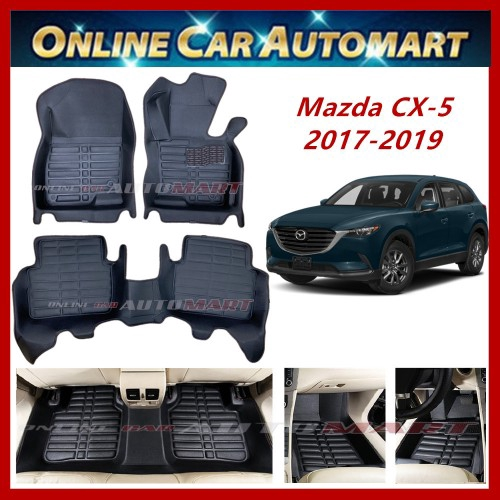 Mazda CX-5 KF(2017-Present)  (5D OEM car carpet(Blk/Blk)(5Seater)