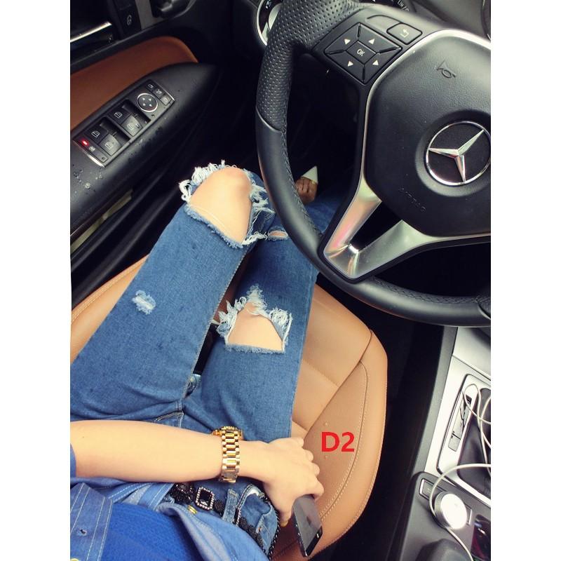 8138D Highwaist Ripped Jeans
