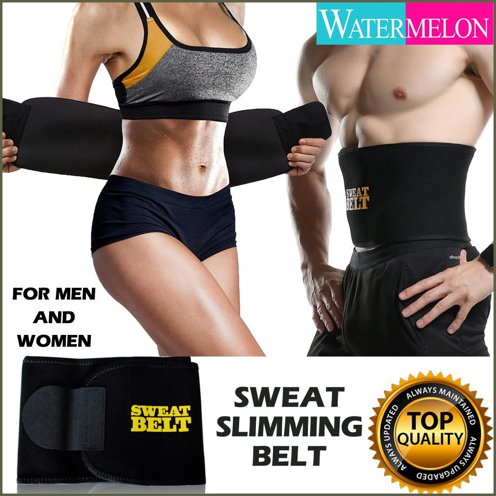 """Fitness Slimmer Belt for Women Black Waist up to 39/"""" Brand New Body Shaper Abs"""