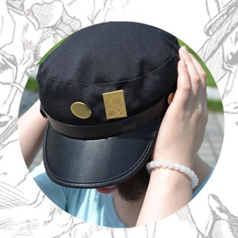 4e64224cf JoJo's Bizarre Adventure Kujo Jotaro Cosplay Hat Anime Cap