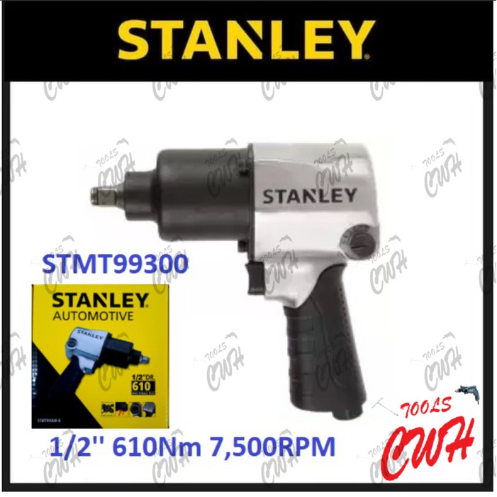 "STMT99300 610NM STANLEY 1/2"" TWINS HAMMER AIR IMPACT WRENCH PNEUMATIC PNEUMATICS GAS TOOL TOOLS 99300 99-300"