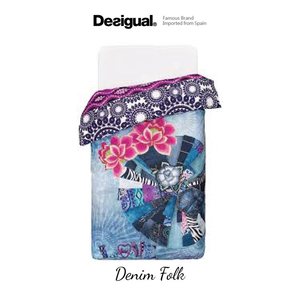 Desigual - Denim Folk Duvet Cover